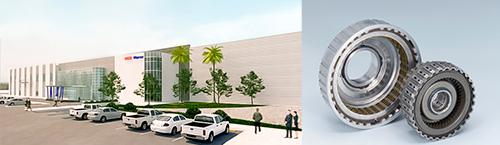 На новом мексиканском предприятии NSK-Warner K.K. будут производиться сцепления в сборе