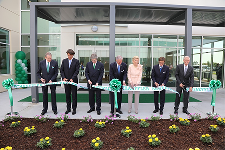 Открытие административного здания на предприятии Schaeffler в Форт-Милле