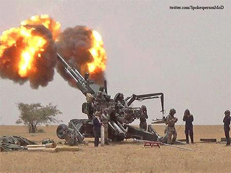 """Для новейших индийских 155 мм гаубиц Dhanush (""""Дхануш"""") были поставлены поддельные подшипники"""